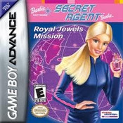 Barbie Secret Agent - GameBoy Advance Game