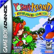 Super Mario Advance 3 Yoshi's Island - Game Boy Advance
