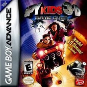 Spy Kids 3D Game Over - Game Boy Advance