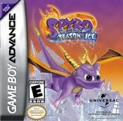 Spyro Season of Ice - Game Boy Advance