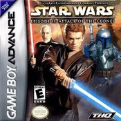 Star Wars Ep. II Attack of the Clones - Game Boy Advance