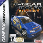 Top Gear Rally- Game Boy Advance