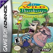 Wild Thornberrys Chimp Chase - GameBoy Advance Game