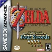 Legend of Zelda Four Swords - Game Boy Advance