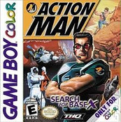 Action Man Search For Base X - Game Boy Color