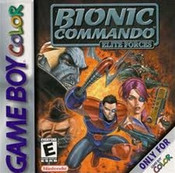 Bionic Commando Elite Forces - Game Boy Color