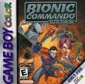 Bionic Commando Elite Forces - Game Boy Color