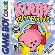 Kirby Tilt N Tumble - Game Boy Color