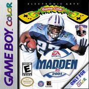 Madden 2001 NFL Football - Game Boy Color