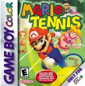 Mario Tennis - Game Boy Color