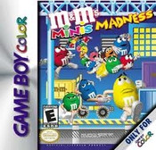 M&M's Minis Madness - Game Boy Color