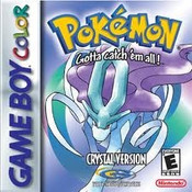 Pokemon Crystal - Game Boy Color Box Art