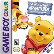 Winnie the Pooh: Adventures in the 100 Acre Wood - Game Boy Color