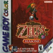 Legend of Zelda Oracle of Seasons - Game Boy Color
