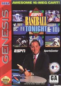 ESPN Baseball Tonight - Genesis Game