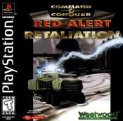 Command & Conquer Red Alert Retaliation - PS1 Game