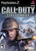 Call of Duty Finest Hour - PS2 Game