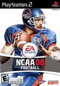 NCAA Football 08 - PS2 Game