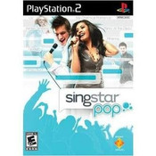 Singstar Pop - PS2 Game