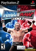 WWF Smack Down Vs Raw 2007 - PS2 Game