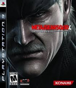 Metal Gear Solid 4 - PS3 Game