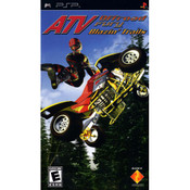 ATV Offroad Fury Blazin' Trail - PSP Game
