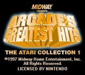 Midway Arcade's Greatest Hits - SNES Game