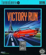 Complete Victory Run - Turbo Grafx 16 Game