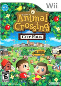 Animal Crossing City Folk - Wii Game