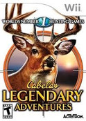 Cabela's Legendary Adventures - Wii Game