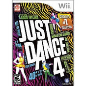 Just Dance 4 - Wii Game