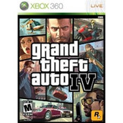 GTA IV - 360 GameGrand Theft Auto IV (GTA 4) - Xbox 360 Game