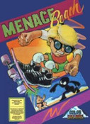 Menace Beach (Color Dreams Blue) - NES Game