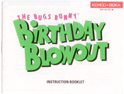 Bugs Bunny Birthday Blowout,The - NES Manual