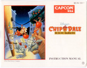 Chip N' Dale Rescue Rangers - NES Manual