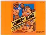 Donkey Kong Classics - NES Manual