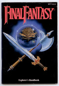 Final Fantasy Explorer's Handbook - NES Manual