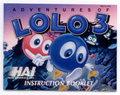 Adventures of Lolo 3 - NES Manual