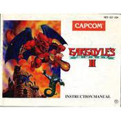 Gargoyle's Quest II (2) Manual For Nintendo SNES