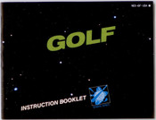 Golf - NES Manual