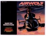 Airwolf - NES Manual