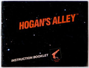 Hogan's Alley Light Gun Game - NES Manual