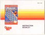 Jeopardy! Junior Edition - NES Manual