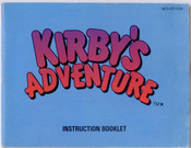Kirby's Adventure - NES Manual