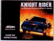 Knight Rider - NES Manual