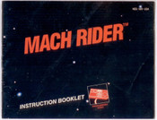 Mach Rider - NES Manual