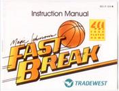 Magic Johnson's Fast Break - NES Manual