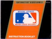 MLB Major League Baseball - NES Manual