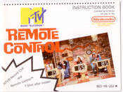 MTV Remote Control - NES Manual