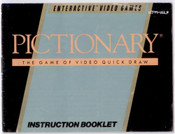 Pictionary - NES Manual